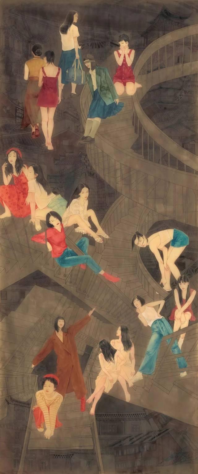 中国美术学院2019届毕业作品展·中国画篇