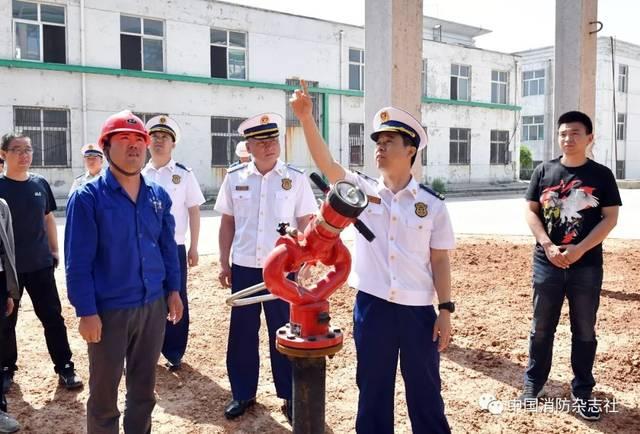 安全生产月丨长治消防深入企业指导消防安全工作