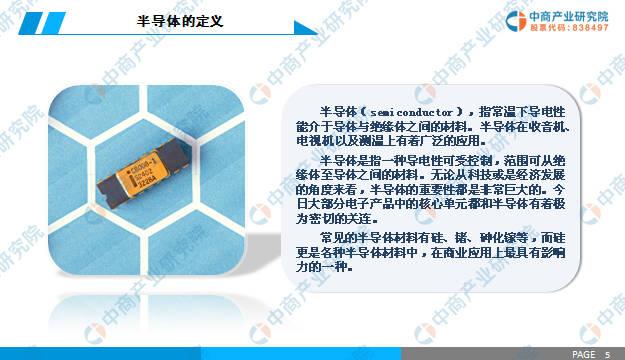 中商产业研究院推出:《2019年中国半导体行业市场前景