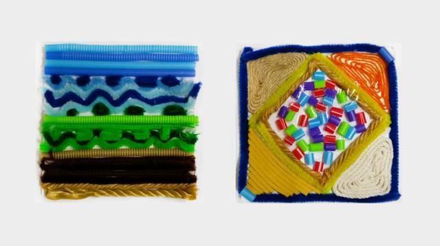 透过自己动手diy造纸与染布的过程,发现纸张纤维的质感及当地植物色彩