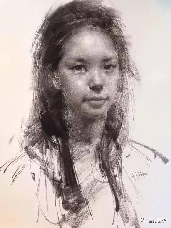 韩国画家:把素描的虚实,做到极致的素描人像人体作品