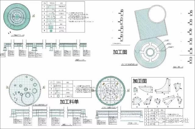 简单建筑cad平面图