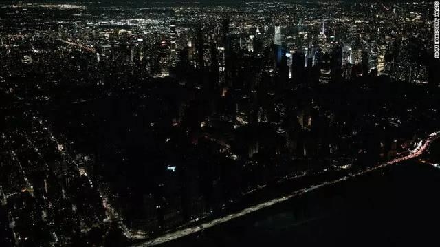 纽约大面积停电