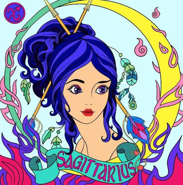十二星座卡通萝莉囹�a_十二星座仙女图