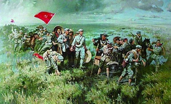 八路军120师出征晋西北,雁门关