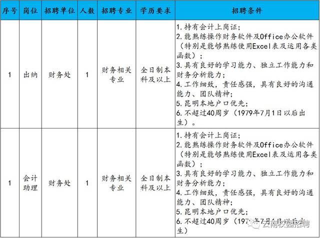 云南大学滇池学院2019年补充招聘