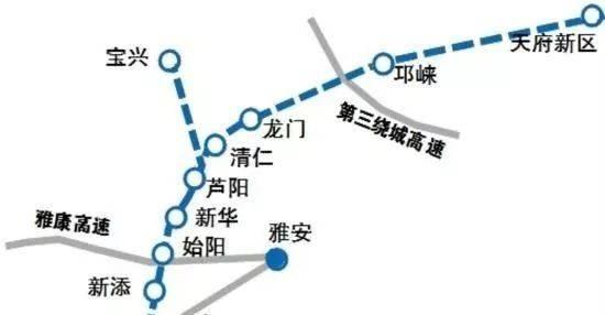 芦山天雅高速项目正有序推进 建
