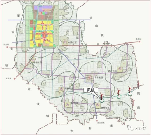 巨野城区未来规划图