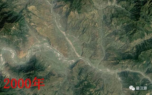 从河谷到山岗,从1984到2019,卫星地图记录下汉源35年历史变迁!