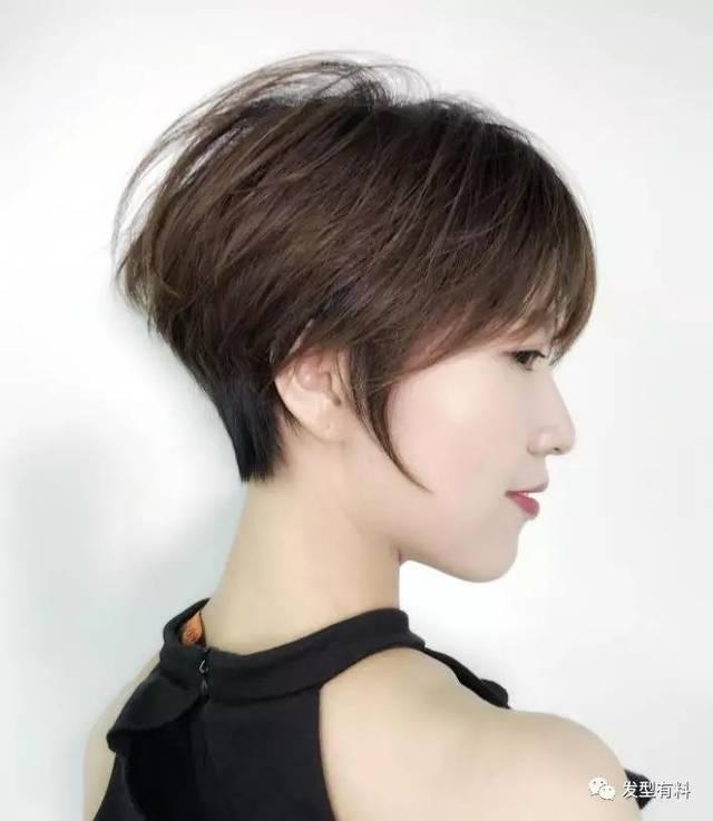 初秋,剪短发的季节!图片