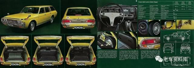 1974年四代丰田皇冠产品册