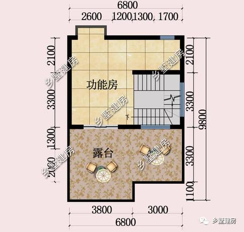 8米的屋顶别墅,四层平农村v屋顶,村里热卖一阵带来提成别墅6图片