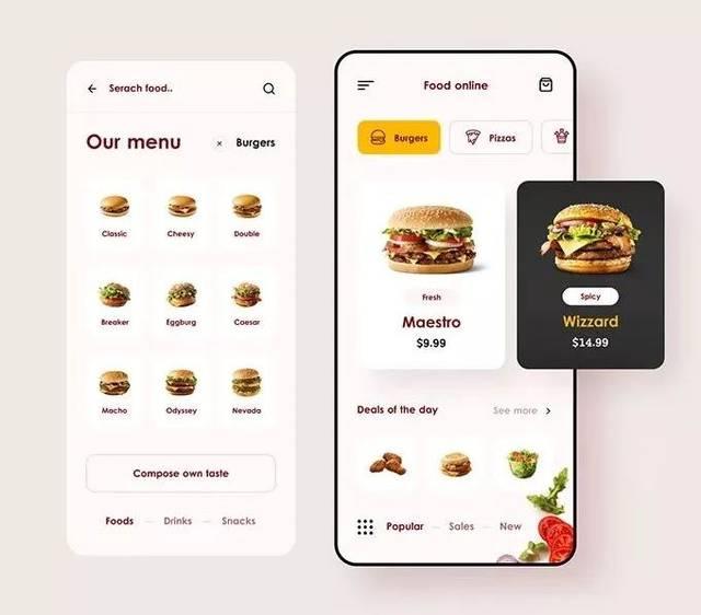 UI|扁平化UI设计要求,都是知识点!菜市场平面设计解析图片