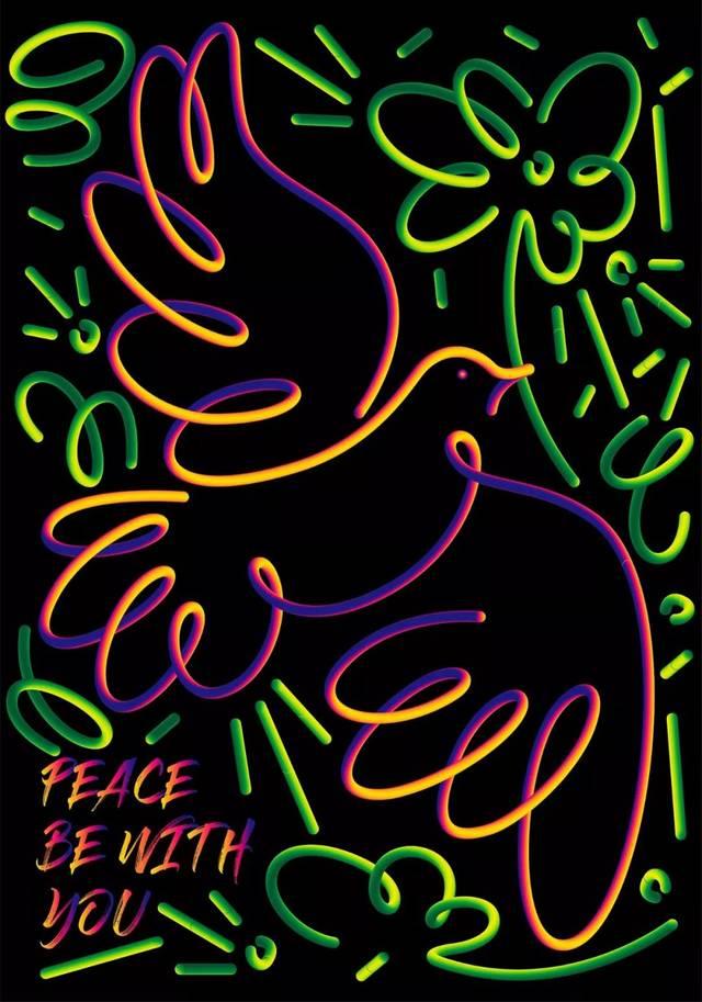 庆祝新中国成立70周年海报/插画获奖作品,果真各