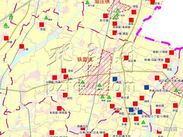 郑埠口安置房规划图
