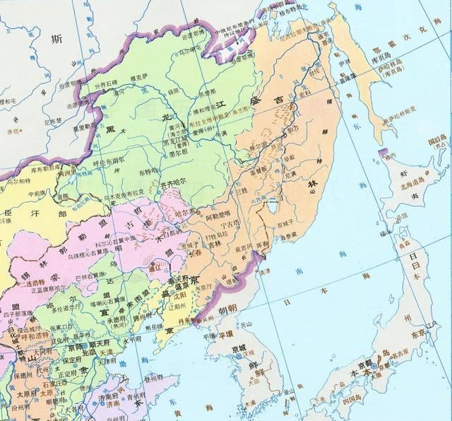 但作為一個地理上相對孤立的單元,與華北只有一條遼西走廊可稱坦途的圖片