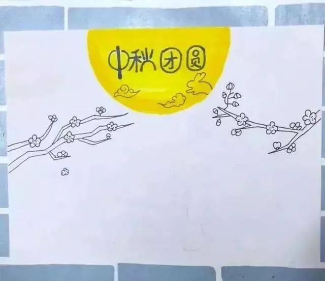 图解颜料第一步首先用马克笔或者水彩笔,彩铅等步骤,在上方中间画网鱼的技巧图片