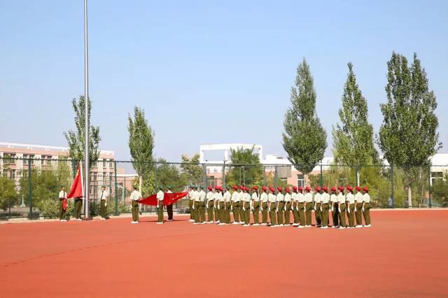 【阳泉一中】我校举行2019年高一新生军训汇报表演暨表彰大会