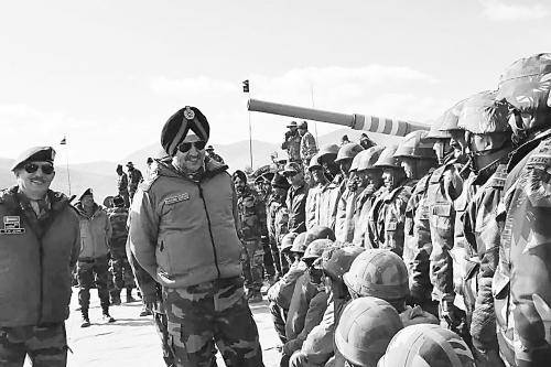 印度频繁在敏感地区搞军演