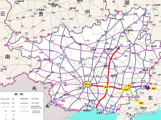 广西玉林市2030规划图