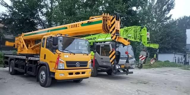 森源爆款12吨吊车上市,性能完全对标xct12,超高性价比图片