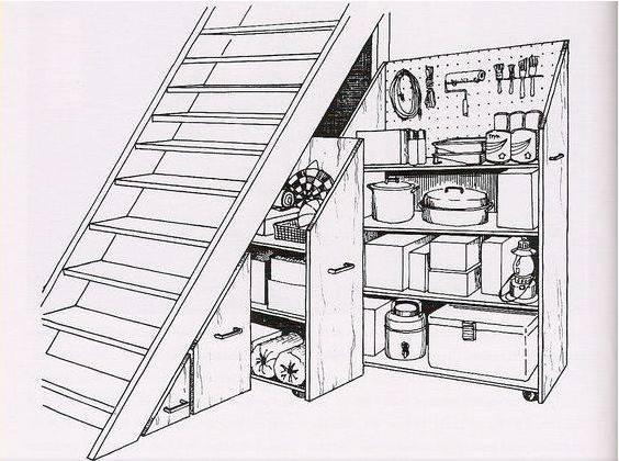 cad平面图楼梯简单画法