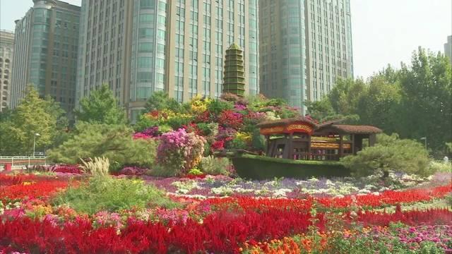 植物雕塑 中国梦