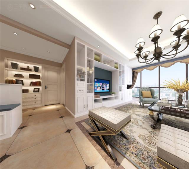 145平米简欧风格 装修设计,营造心弛神往的写意空间