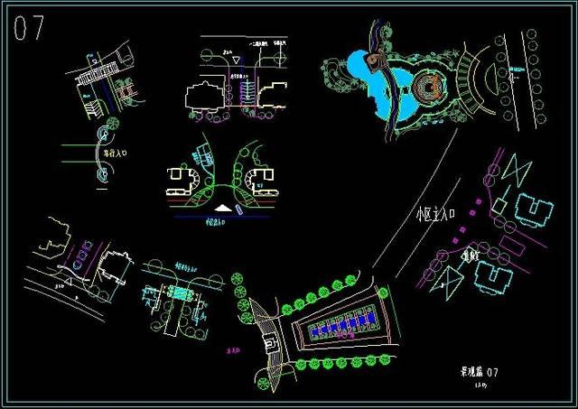 公园cad平面设计图纸,最新的公园cad平面设计图纸大全图片