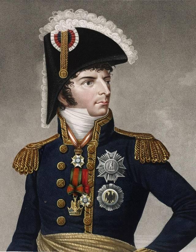 这个法国人有点牛,原为拿破仑部下却娶他女友