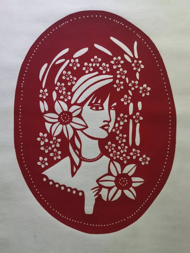 """""""中国梦.家乡情—郝明森剪纸艺术展""""作品欣赏"""