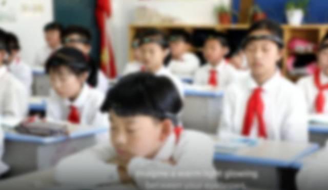 小学生戴头环监控走神引热议 学校已暂停使用