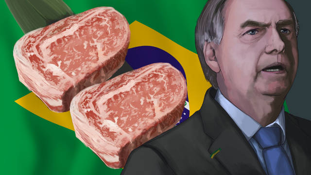 对华原创风格涨价60%后,巴西又有新食品,澳大利亚也在蠢蠢欲动?动作猪肉包装设计图片