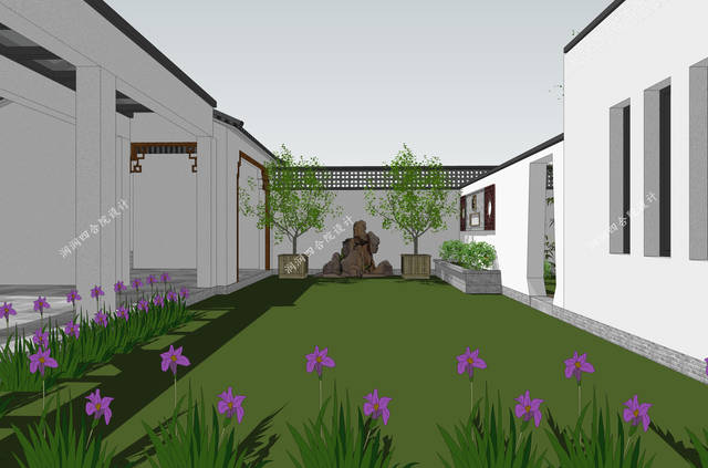 北方庭院设计图片大全图片