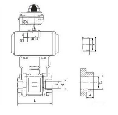 气动球阀结构图示例_手机搜狐网