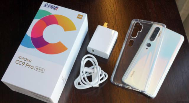 小米发布cc9pro手机,拥有一亿手机摄像头华为像素字体文件夹图片