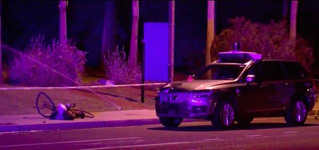 2018 年 3月 发生在美国亚利桑那州坦佩市的 Uber 无人车致死案一度让整个行业陷入停滞 | ABC 电视台画面截图
