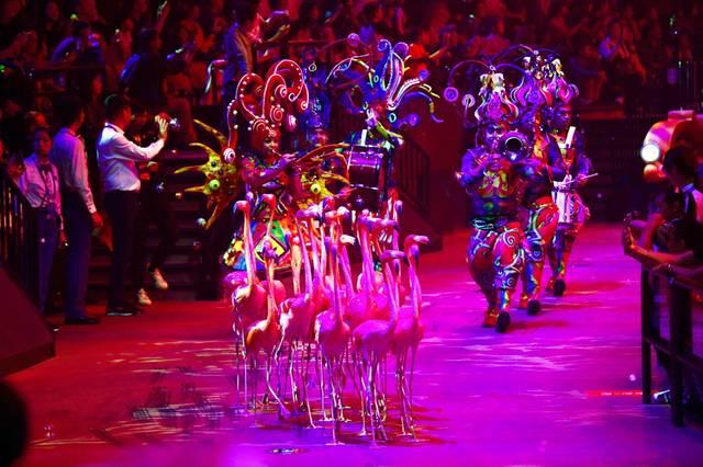 第六届中国国际马戏节珠海开幕