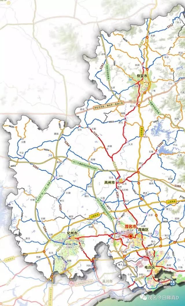 广西北流市规划图