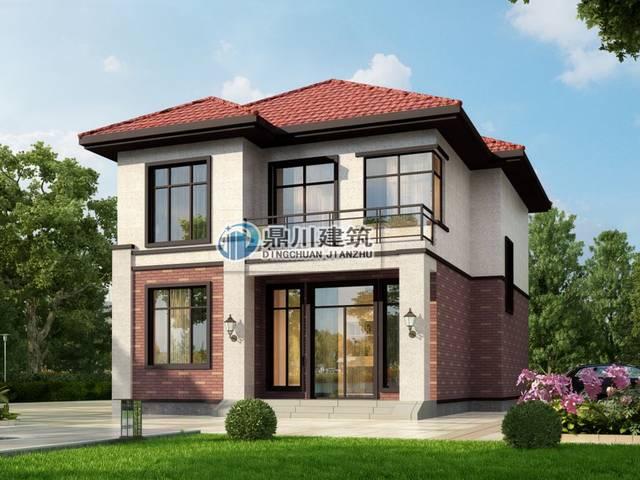 两楼别墅设计图