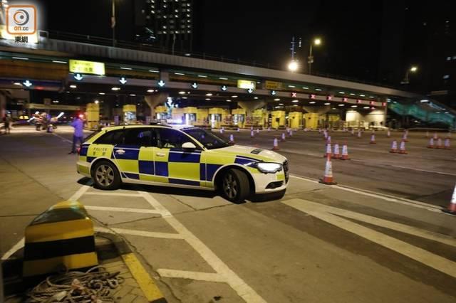 香港交通主动脉终于恢复通车,港