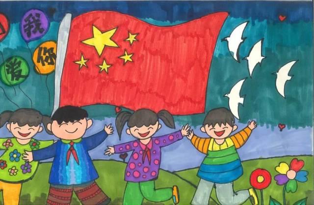 手工作品我的中国梦