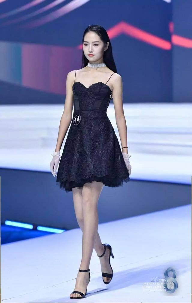 2019中国(广州)国际模特大赛总决赛,潍坊18岁女孩获影视模特组冠军