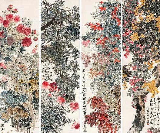 齐白石最贵10幅画,大半是花鸟,总价高达20亿!图片