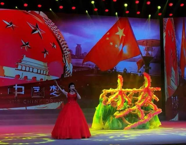 歌伴舞《我们的中国梦》