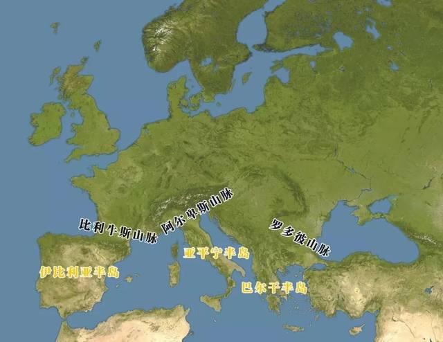 """欧洲""""半岛""""图片"""