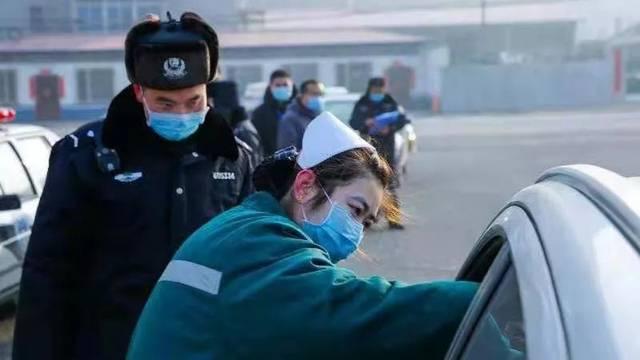 警察老公和护士媳妇为抗疫分别离