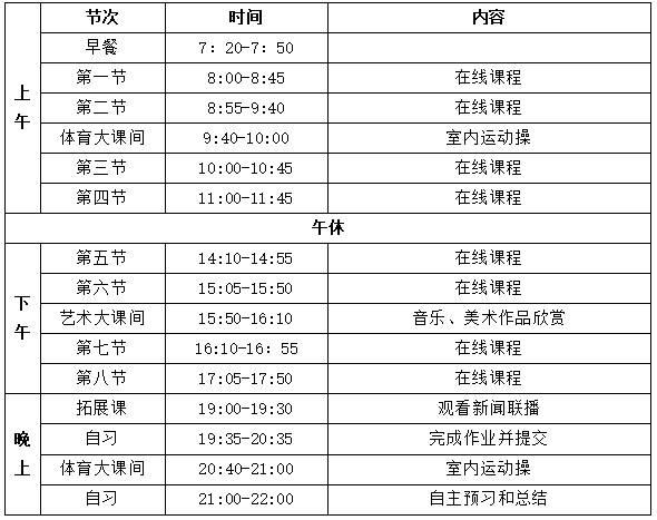 深圳市光明区高级中学致全体同学