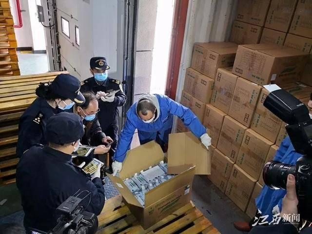 5万个医用口罩,用于保障江西新型冠状病毒感染的肺炎疫情防控工作