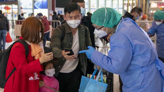 上海虹桥火车站进沪需登记健康信